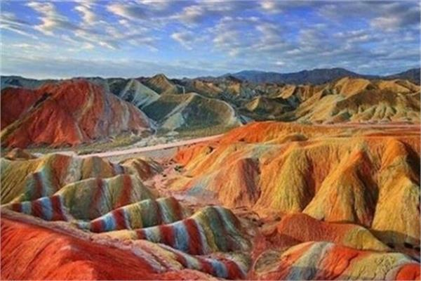 Iran's Rainbow Mountains Inscribed on National Heritage List