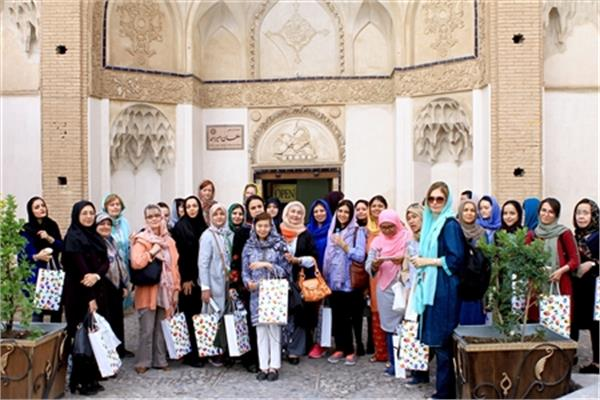 Female Diplomats' One-Day Tour to Kashan