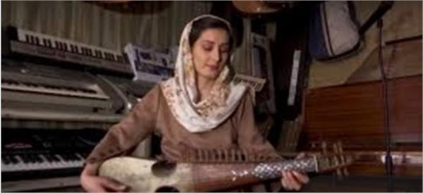 Fazila Zamir; Rabab Player Girl from the post-2001 Generation
