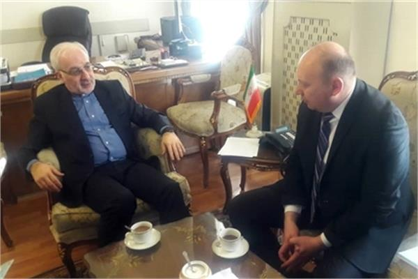 New ECI President Meets Iranian Foreign Office Official