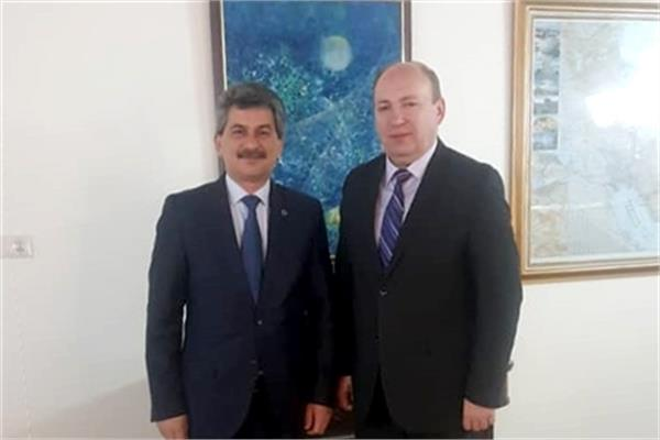 ECI President Meets with H.E. Turkish Ambassador