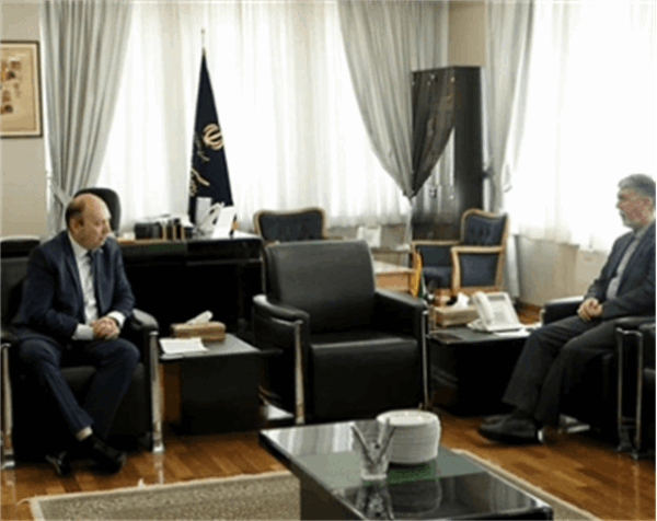 Meeting of the President of the ECO Cultural Institute with the Minister of Guidance