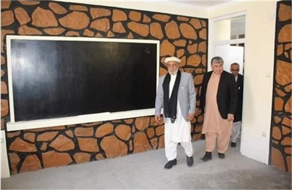 A New School Building Opens in Wardak