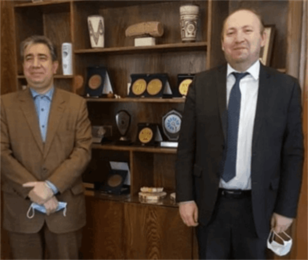 Presence of the director of ECO Cultural Institute in the National Museum of Iran