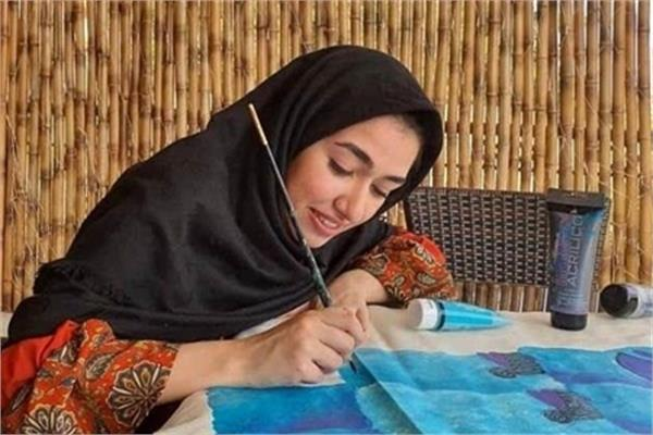 Iranian Artist Makes It to UNESCO's Painting Contest